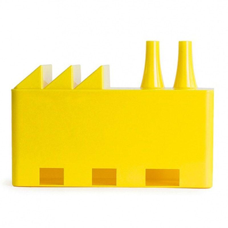 Купить со скидкой Органайзер для проводов Cable factory желтый