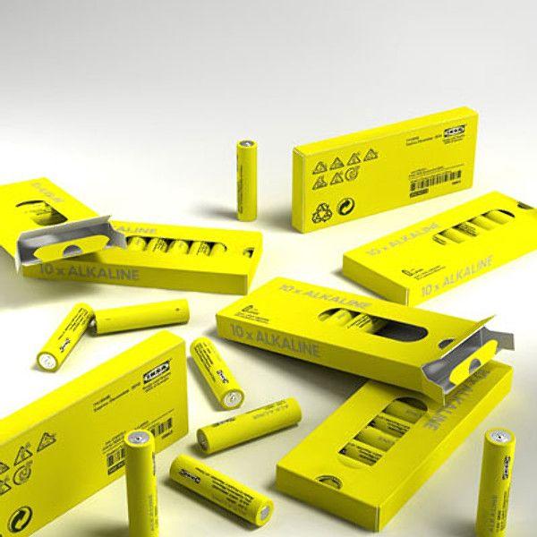 Батарейка щелочная Алкалайн (Alkaline) R06