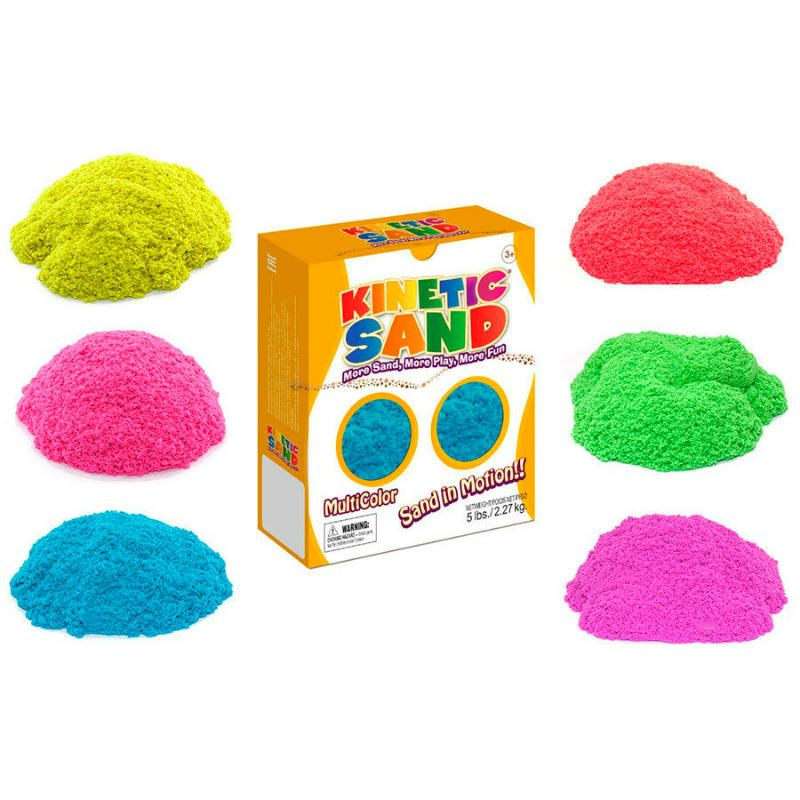 Кинетический песок Kinetic Sand 2,27 кг. зеленый и красныйПодарки<br>Замки из песка у вас дома.<br>Размер: None; Объем: None; Материал: Кинетический песок; Цвет: Красный / Зеленый;