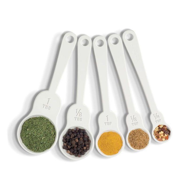 Мерные ложечки M-SpoonsПодарки<br>Мерные ложечки M-Spoons<br>Размер: None; Объем: None; Материал: Пластик; Цвет: Белый;