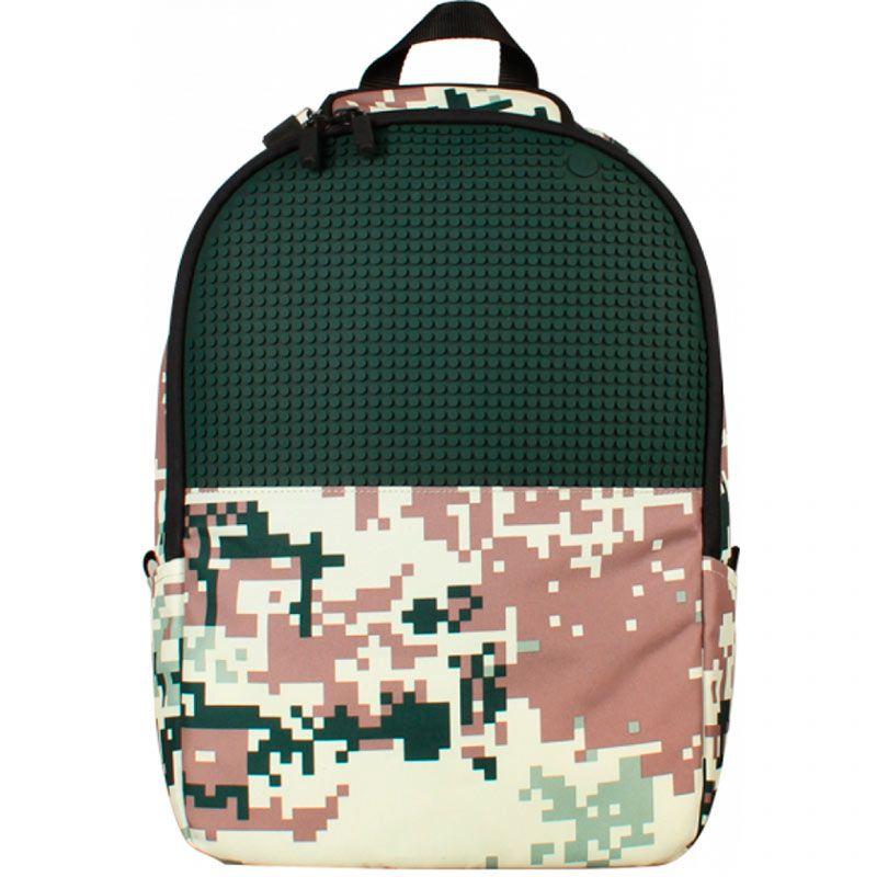 Рюкзак камуфляж Camouflage Backpack (Зеленый)Подарки<br>Если ваш малыш юный солдат или поклонник войнушек, то такой рюкзак будет отличным подарком.<br>Размер: 31,5 x 43 x 14,5 см; Объем: None; Материал: Нейлон; Цвет: Зеленый;