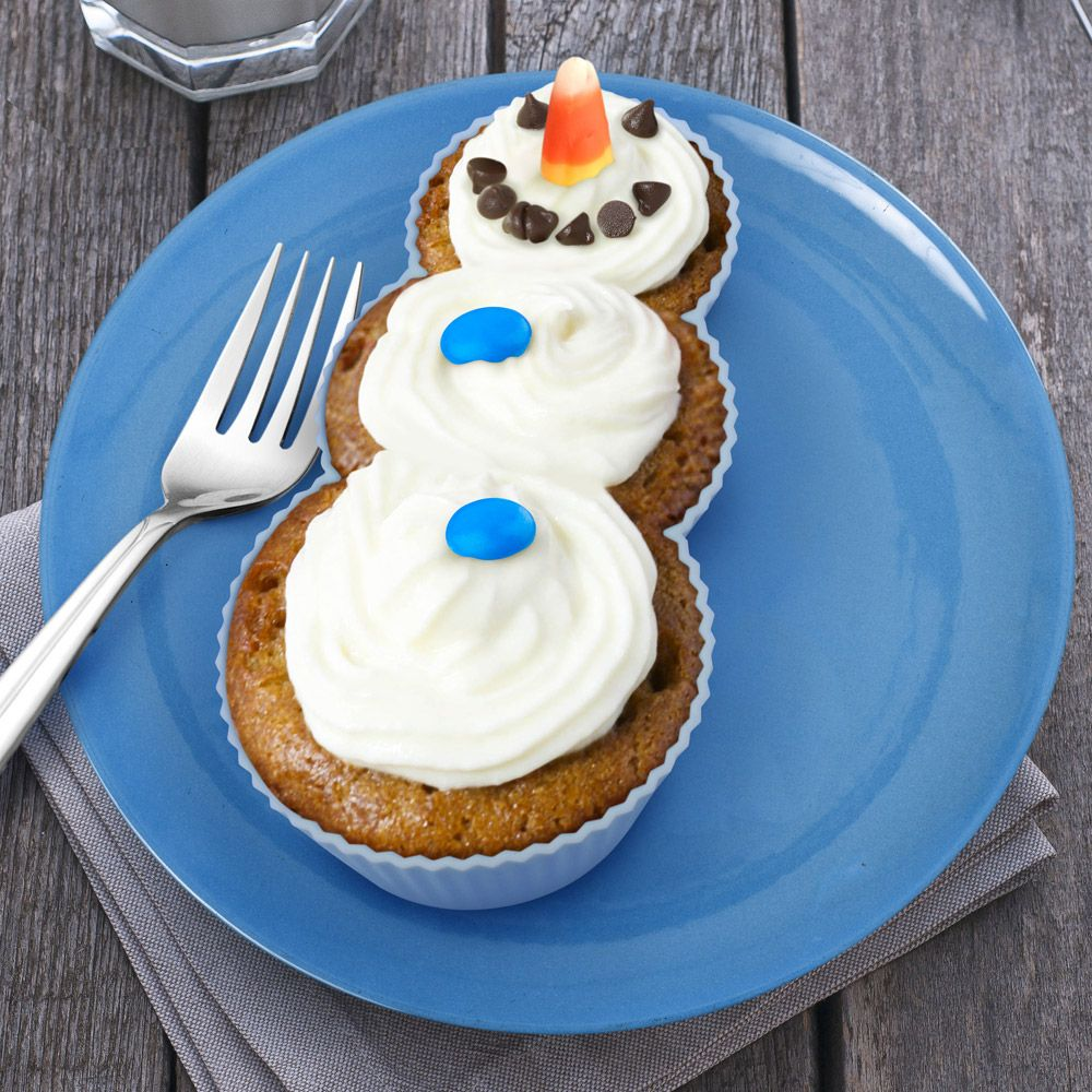 Набор форм для выпечки Frosted SnowmanПодарки<br>Форма для выпечки Снеговик<br>Размер: None; Объем: None; Материал: Силикон; Цвет: None;