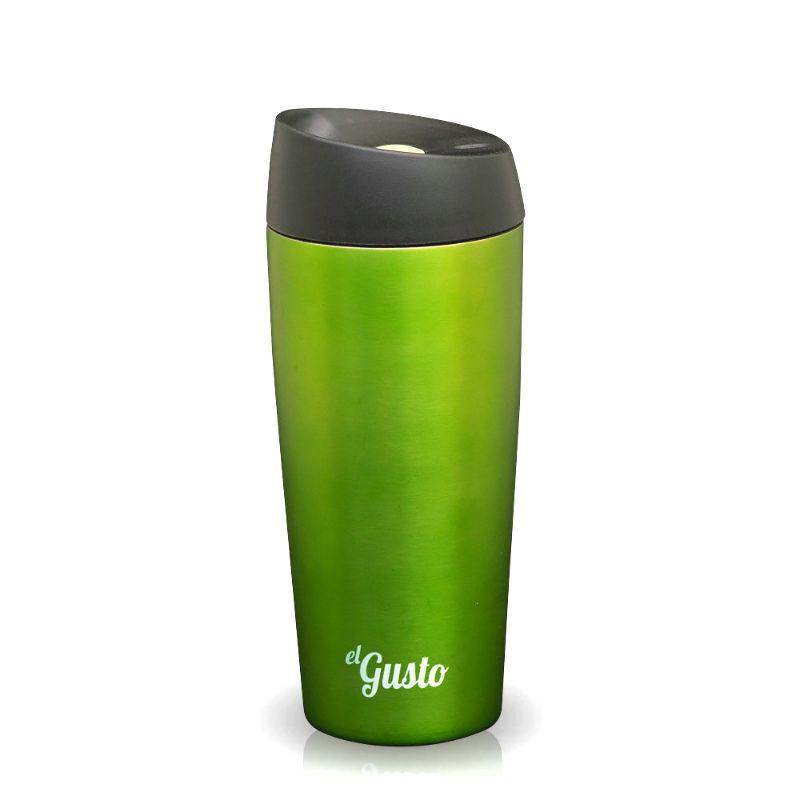 Термокружка El Gusto Grano зеленаяПодарки<br>Термокружка El Gusto Grano зеленая<br>Размер: None; Объем: 470 мл.; Материал: Нержавеющая сталь; Цвет: Зеленый;