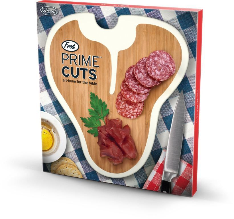 Доска для резки Prime CutsЛюбимому<br>Доска для резки Prime Cuts<br>Размер: 25 х 22.5 см.; Объем: None; Материал: Бамбук, силикон; Цвет: None;