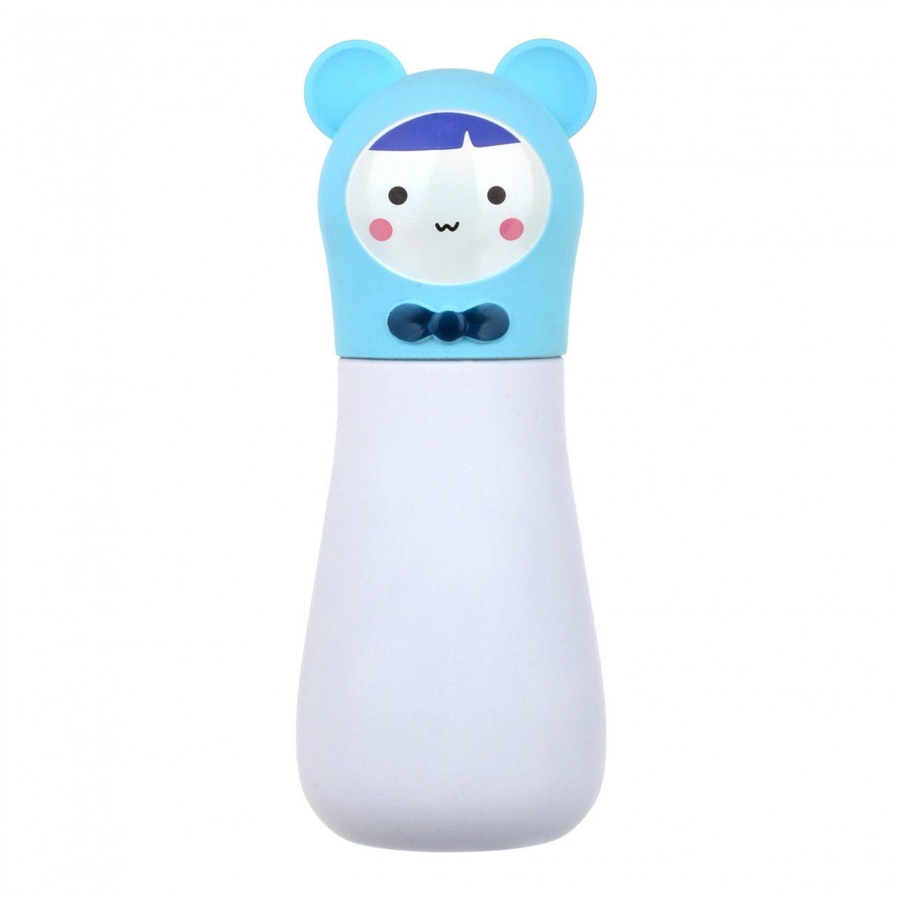 Кружка-термос  Кролик (Цвет: Голубой)Чашки и кружки<br>Кружка-термос  Кролик (Цвет: Голубой)<br>Размер: None; Объем: None; Материал: Металл; Цвет: Белый / Голубой;