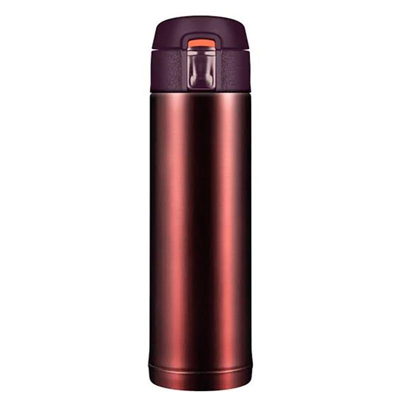 Термостакан Quick Open 2.0, коричневый металлик, 480 млПодарки<br>Термостакан для зимы и лета коричневого цвета. Для автомобилистов и детишек, не пролить и легко поставить в любой держатель, при температур...<br>Размер: 115 х 195 х 115 см; Объем: 480 мл; Материал: Нержавеющая сталь, пищевой пластик; Цвет: Коричневый;