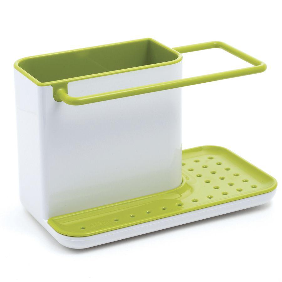 Органайзер для раковины Caddy белый/зеленыйПодставки для ванной<br>Органайзер для раковины Caddy (белый/зеленый)<br>Размер: 20 х 13.5 х 11.5 см.; Объем: None; Материал: Силикон, пластик; Цвет: Белый / Зеленый;