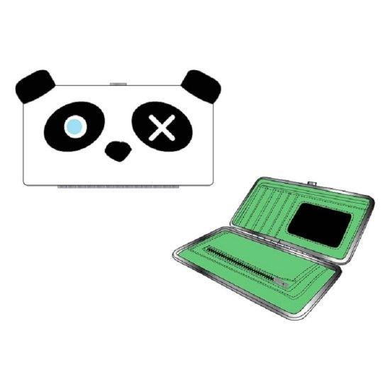 Кошелек Freaks And Friends Panda Hinge WalletПодарки<br>Кошелек Freaks And Friends Panda Hinge Wallet<br> <br>Ой какая милая панда, может она подойдет вам, как новый житель сумочки.<br>Размер: 18 х 10 х 2 см; Объем: None; Материал: Текстиль; Цвет: Белый;