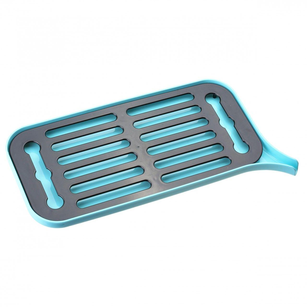 Сушилка для посуды ФлетиПодарки<br>Сушилка для посуды Флети<br>Размер: None; Объем: None; Материал: Пластик; Цвет: Голубой;