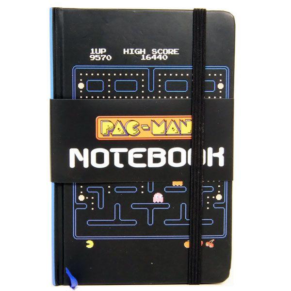 Блокнот Pac-ManПодарки<br>Блокнот в стиле популярного мульта.<br>Размер: None; Объем: None; Материал: Бумага; Цвет: Белый / Черный;
