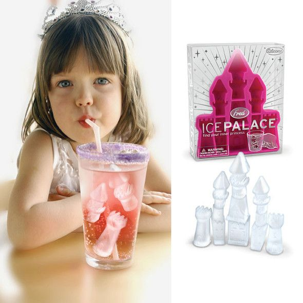 Форма для льда Ice PalaceКухня<br>Форма для льда Дворец (Ice Palace)<br>Размер: None; Объем: None; Материал: Силикон; Цвет: Розовый;