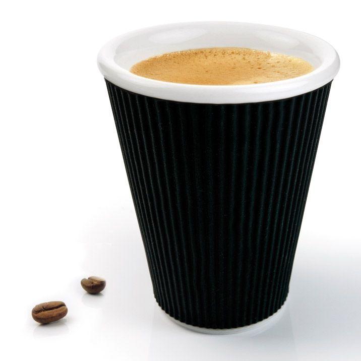 Чашка Ondules 300 мл чернаяЧашки и кружки<br>Чашка Ondules (300 мл. черная)<br>Размер: None; Объем: 300 мл.; Материал: Фарфор; Цвет: Черный;