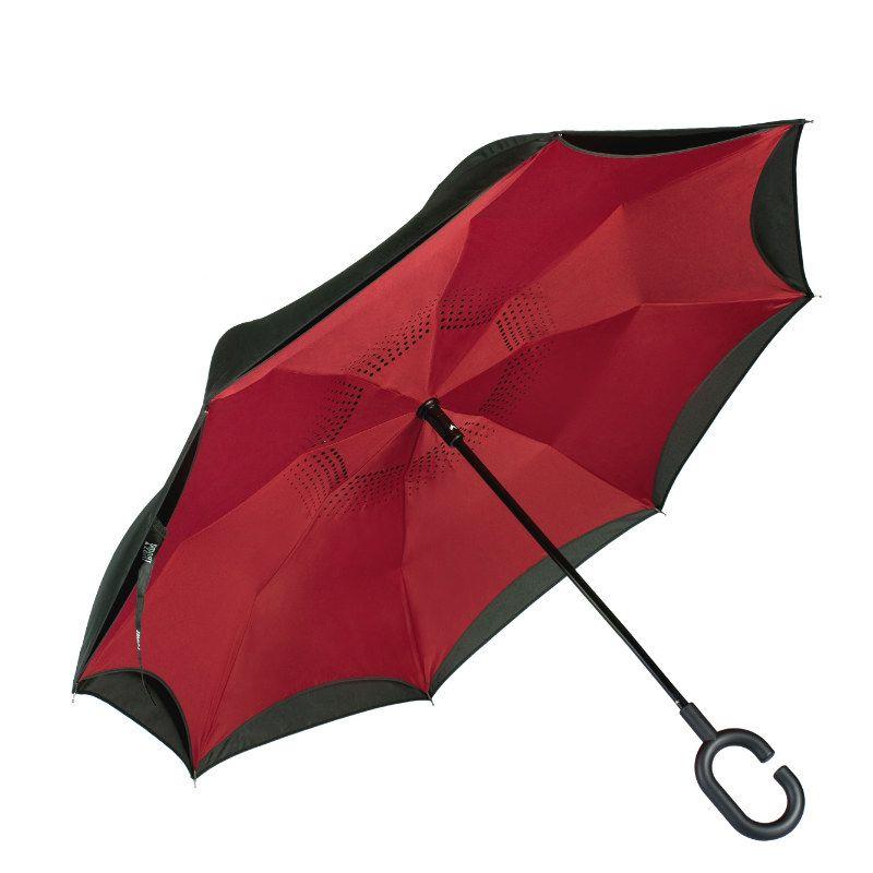Зонт SmartZont Бордо КлассикПодарки<br>Сухой после дождя. Всегда. Стоит без всякой опоры. Невозможно сломать. Минимум места для открытия. И для закрытия тоже. SmartZont Автооткрытие (купол зонта открывается при нажатии на кнопку, закрытие зонта осуществляется вручную).<br>Размер: 86 см; Объем: None; Материал: Стекло; Цвет: Бордовый;
