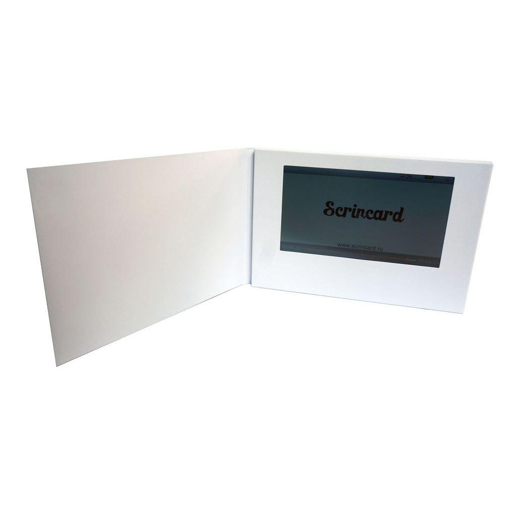 Видео открытка Scrincard 7 дюймов touch screen
