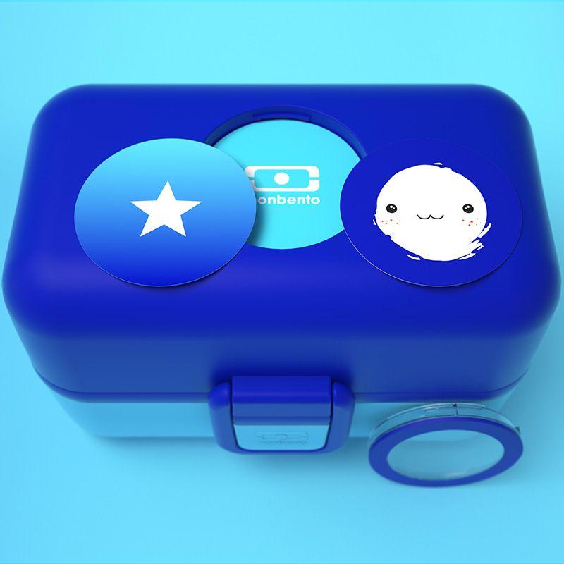 Ланч-бокс MB Tresor ежевичныйПодарки<br>Ланч-бокс MB Tresor ежевичный<br>Размер: 9.2 x 16 x 10.4 см.; Объем: None; Материал: Пластик ABS; Цвет: Синий;