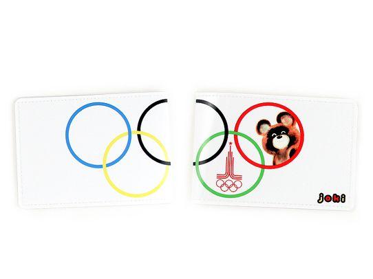 Обложка для студенческого Олимпийский мишкаПодарки<br>Олимпийский мишка напомнит о летней Олимпиаде.<br>Размер: None; Объем: None; Материал: ПВХ; Цвет: Комбинированный;