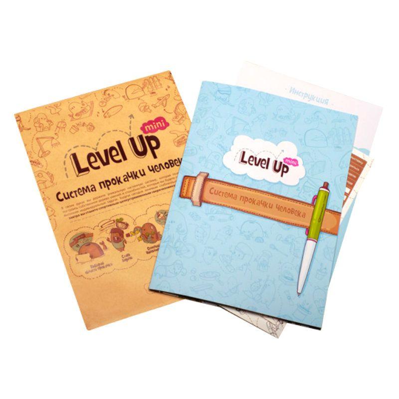 Система прокачки человека Level Up MiniПодарки<br>Просто выбери категории и области, в которых ты хочешь преуспеть, занимайся и отмечай прогресс.<br>Размер: None; Объем: None; Материал: Бумага; Цвет: None;
