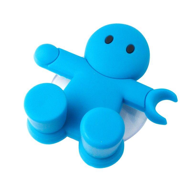 Держатель для зубной щётки Amico синийАксессуары для туалета<br>Держатель для зубной щётки Amico синий<br>Размер: 6 x 6 см; Объем: None; Материал: Пластик; Цвет: Синий;