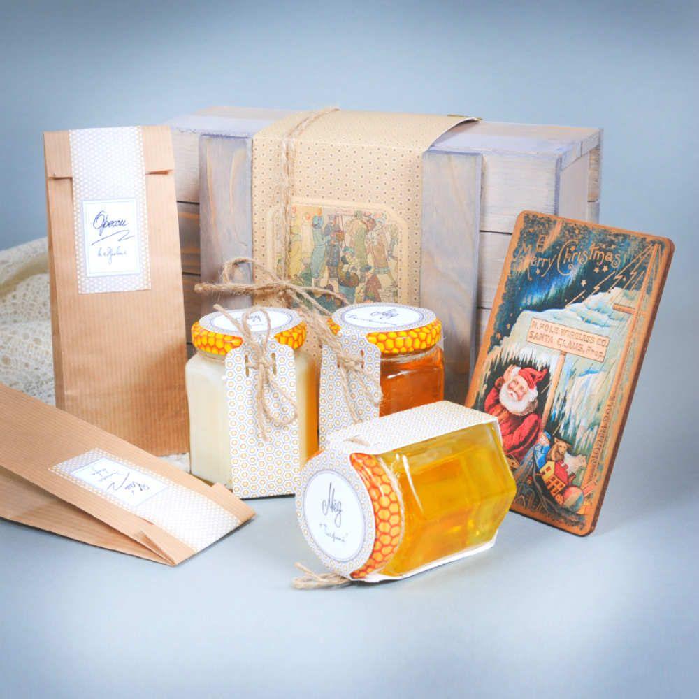 Подарочный набор - Медовая энергияДля напитков, вина и алкоголя<br>Подарочный набор Медовая энергия<br>Размер: 21 х 15 х 8 см.; Объем: None; Материал: None; Цвет: None;