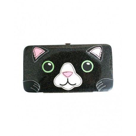Кошелек Freaks And Friends Cat Glitter Face Hinge WalletРебенку<br>Кошелек Freaks And Friends Cat Glitter Face Hinge Wallet<br> <br> Выполнен кошелек Финна и Джейка из  100 % PVC. Прекрасный подарок для любителей кошечек.<br>Размер: 20 см; Объем: None; Материал: Плюш; Цвет: Серый;