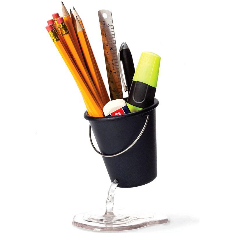 Органайзер для рабочего стола Desk Bucket черныйПодставки для ручек<br>Органайзер для рабочего стола Desk Bucket черный<br>Размер: 10.5 х 13 см.; Объем: None; Материал: Пластик ABS; Цвет: Черный;