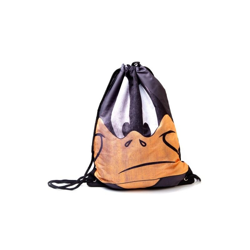 Мешок для сменки Looney Tunes Daffy Big Face GymbagПодарки<br><br>Размер: 35 х 46 см; Объем: None; Материал: Полиэстер; Цвет: Желтый;