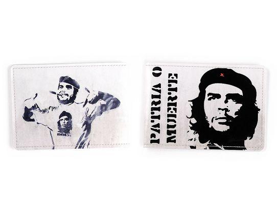 Обложка для студенческого ЧеПодарки<br>Че Гевара на всех студенческих страны.<br>Размер: 9,5 х 13,4 cм; Объем: None; Материал: ПВХ; Цвет: Комбинированный;