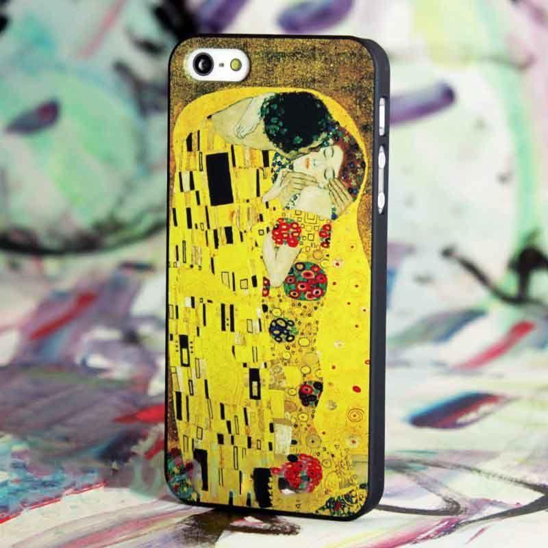 Чехол Картины для iPhone 6/6S (Густав Климт Поцелуй)Аксессуары для гаджетов<br>Произведение искусства на вашем смартфоне.<br>Размер: None; Объем: None; Материал: Пластик; Цвет: Желтый;