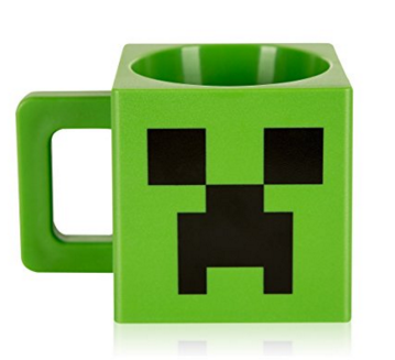 Купить со скидкой Кружка пластиковая Minecraft Creeper 230 мл