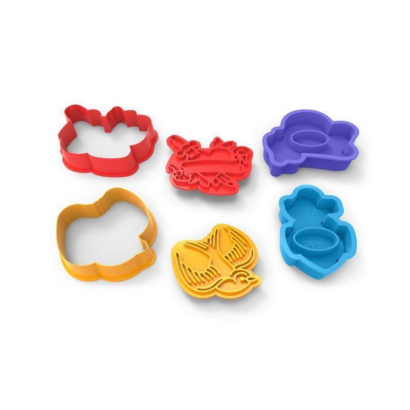 Форма для печенья Tough CookiesКухня<br>Форма для печенья Tough Cookies<br>Размер: None; Объем: None; Материал: Плотный пищевой пластик; Цвет: None;