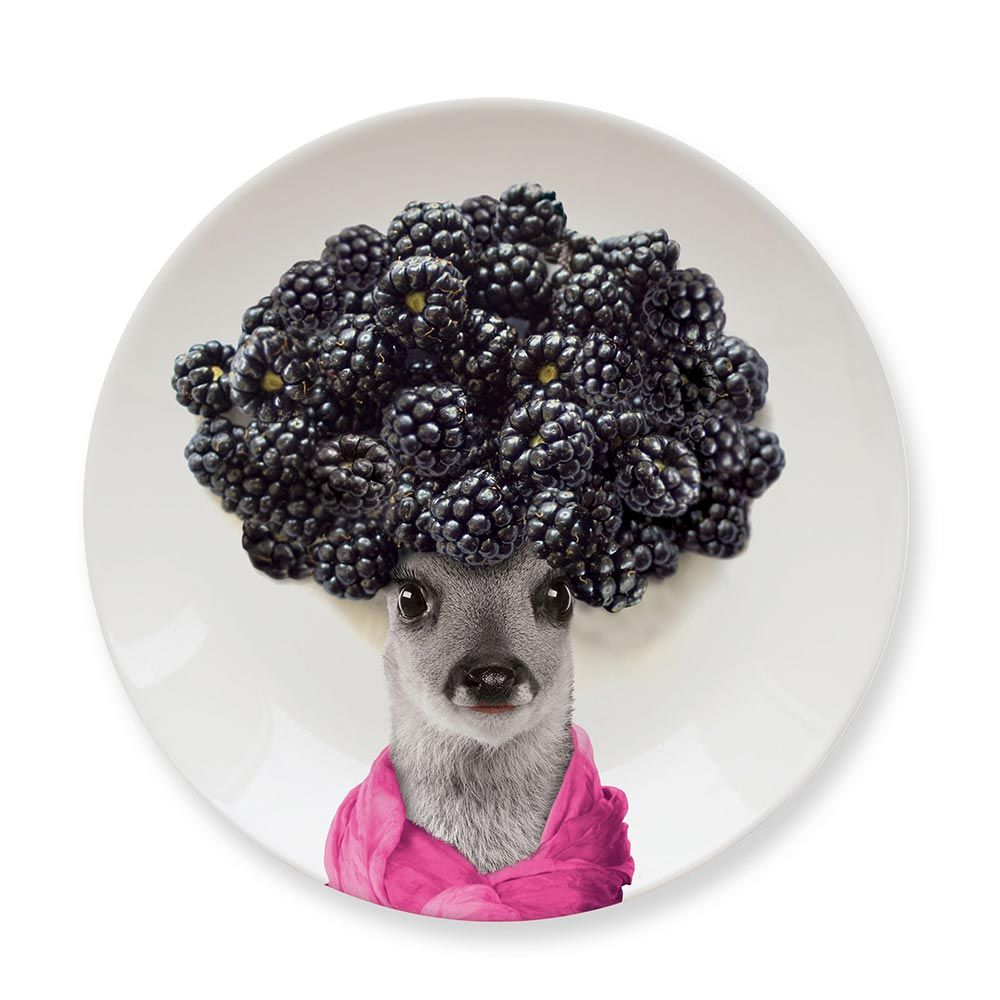 Обеденная тарелка Baby DeerСыну<br>Обеденная тарелка Baby Deer<br>Размер: 2.1 x 17.4 x 17.4 см.; Объем: None; Материал: Керамика; Цвет: None;