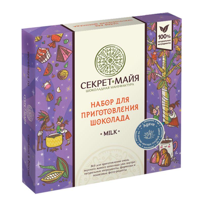 """Набор для приготовления шоколада Секрет Майя """"Milk Agave"""" от 1 250 руб"""