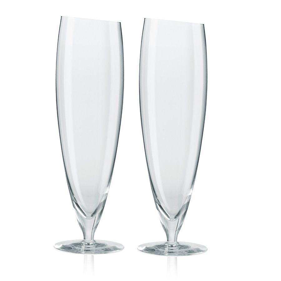 Пивные бокалы Eva Solo 2 шт большие 500 млКухня<br>Бокалы пивные 2 шт большие 500 мл<br>Размер: 7.5 х 24.1 х 6.8 см.; Объем: None; Материал: Выдувное стекло; Цвет: Прозрачный;