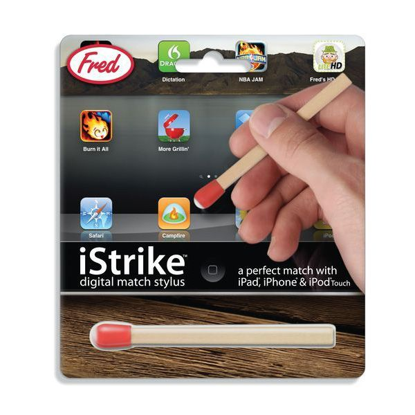 Перо для сенсорных экранов iStrikeРабота и учеба<br>Перо для сенсорных экранов iStrike<br>Размер: None; Объем: None; Материал: Силикон; Цвет: None;