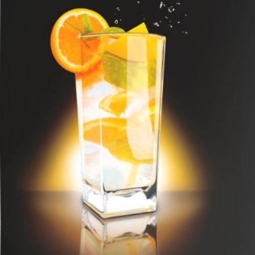 Стакан с подсветкой Inglasslight (Желтый)Кухня<br>После мойки, при сохранении жидкости на дне, стакан может светиться. Свечение гаснет автоматически по истечении 10 мин или раньше после испа...<br>Размер: None; Объем: 250 мл; Материал: Пищевой пластик; Цвет: Желтый;