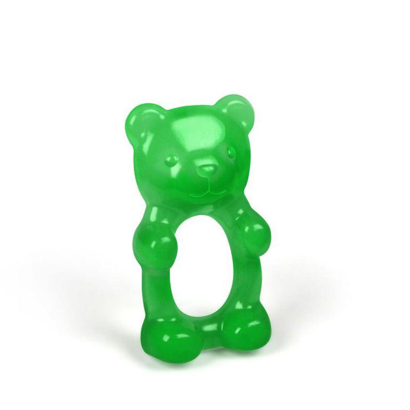 Прорезыватель для зубов Gum MeДень рождения<br>Прорезыватель для зубов Мишка<br>Размер: None; Объем: None; Материал: Силикон; Цвет: Зеленый;
