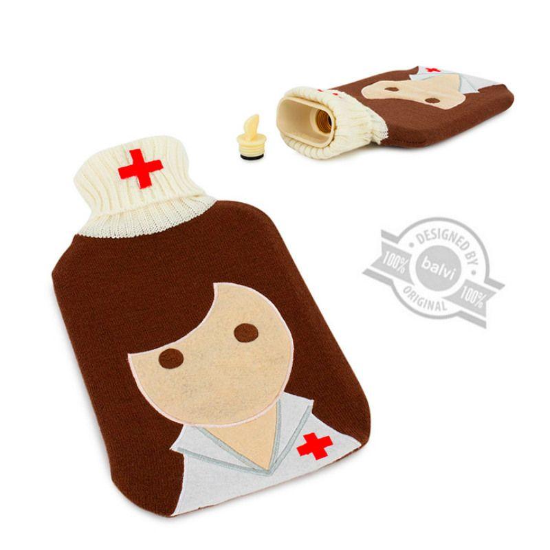 Грелка My NurseПодарки для дома<br>Грелка My Nurse<br>Размер: 33 x 19 x 5 см.; Объем: 2 литра; Материал: Текстиль, резина; Цвет: None;