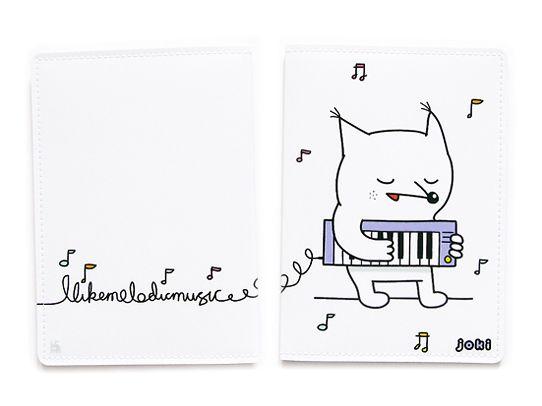 Обложка для паспорта Melodic foxПодарки<br>Обложка для паспорта Melodic fox<br>Размер: None; Объем: None; Материал: ПВХ; Цвет: Комбинированный;