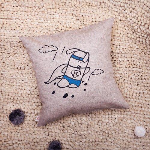 Подушка декоративная Кроль - супермен