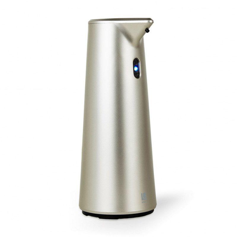 Диспенсер для мыла сенсорный Finch никельМыло и аксессуары для ванной<br>Диспенсер для мыла сенсорный FINCH никель<br>Размер: 18.8 x 9.5 x 9.5 см; Объем: None; Материал: Пластик; Цвет: Серый;