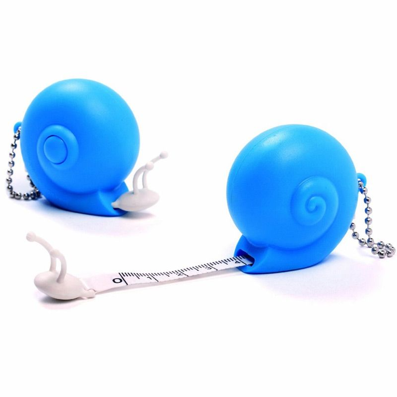 Рулетка Snail голубаяПорядок и хранение<br>Рулетка Snail (голубая)<br>Размер: 4.5 x 4.5 x 3.5 см.; Объем: None; Материал: Пластик; Цвет: Голубой;