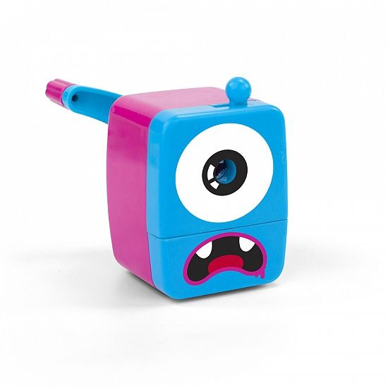 Точилка Mini MonsterКосмос<br>Точилка Mini Monster<br> <br>Милый друг на вашем рабочем столе.<br>Размер: 38 см; Объем: None; Материал: Пластик, металл; Цвет: Розовый;