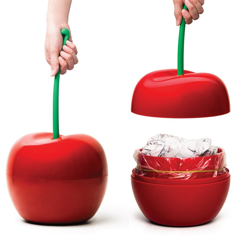 Купить со скидкой Корзина для мусора Cherry