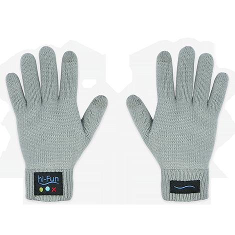 Перчатки bluetooth гарнитура Hi-Call Glove HandsetУютная одежда<br>Перчатки bluetooth гарнитура Hi-Call (Размер: Мужские, Цвет: Серый)<br>Размер: None; Объем: None; Материал: 95% - полиакрилонитрил, 3% - хлопок, 2% - полиэстер; Цвет: Серый;