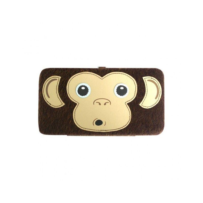 Кошелек Freak And Friends Furry Monkey Face Hinge WalletРебенку<br>Кошелек Freak And Friends Furry Monkey Face Hinge Wallet<br><br>Вот такая обезьянка может послужить приятным подарком или сувениром!<br>Размер: 20 см; Объем: None; Материал: Плюш; Цвет: Коричневый;