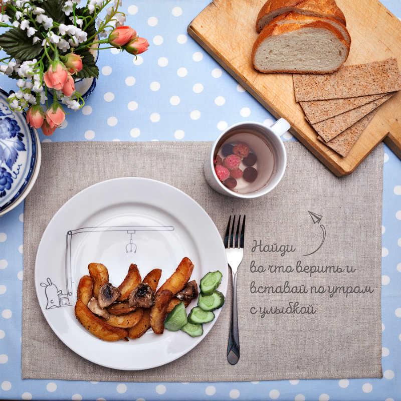 Сюжетная тарелка Кроль у кранаКухня<br>Сюжетная тарелка Кроль у крана<br>Размер: None; Объем: None; Материал: Фарфор; Цвет: Белый;