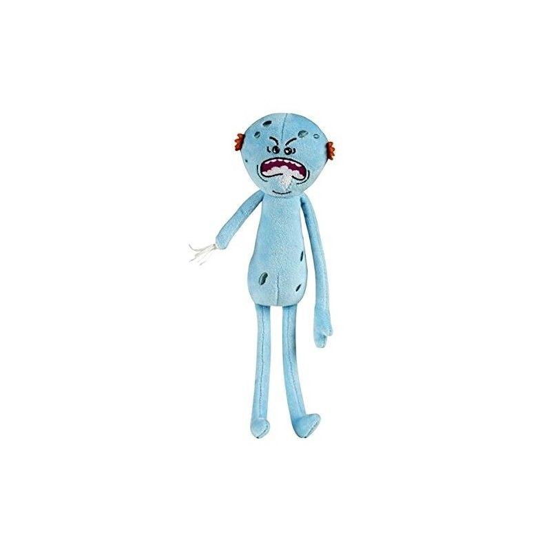 Плюшевая игрушка Rick and Morty Meeseeks Limited Edition 27 смМягкие игрушки<br>Плюшевая игрушка Rick and Morty Meeseeks Limited Edition 27 см<br> <br>Плюшевый друг подойдет не только детям, но и взрослым.<br>Размер: 27 см; Объем: None; Материал: Плюш; Цвет: Голубой;