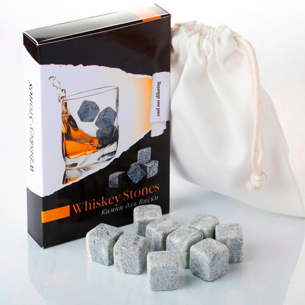 Камни для виски Whiskey Stones (12 штук)Для напитков, вина и алкоголя<br><br>Размер: None; Объем: None; Материал: Стеатит (талькохлорид, Soapstone, мыльный камень), упаковка: хлопок, картон.; Цвет: None;