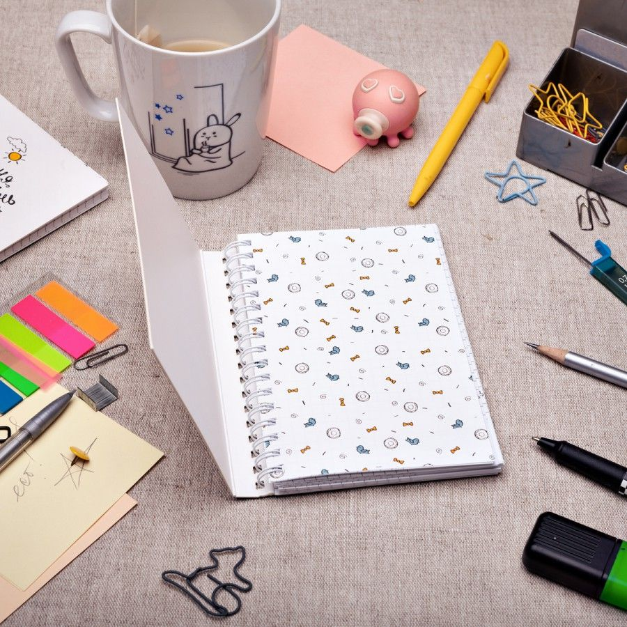 Купить со скидкой Блокнот анимационный Счастлив тот, кто счастлив у себя дома
