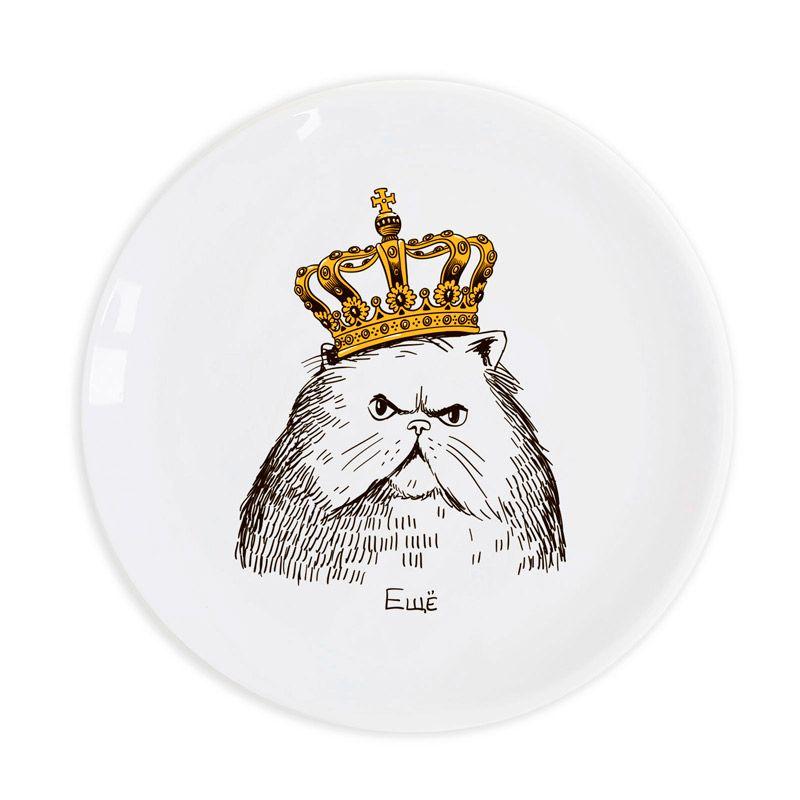 """Тарелка """"Кот в короне"""" от 1 099 руб"""
